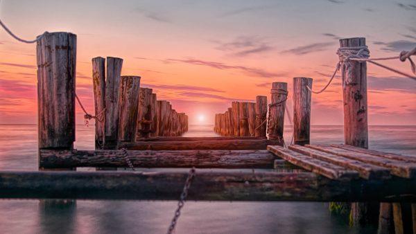 zingst germany old pier buy fine art print painterly paintography photo photography photographer