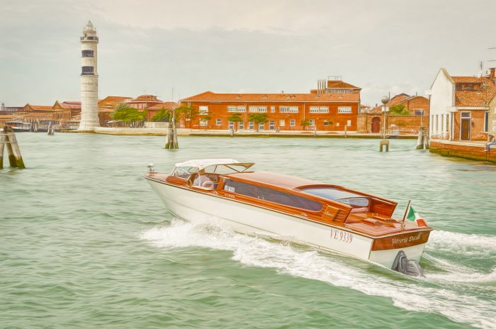 Taxi to Venice Paintography by Henry von Huch Photopainting