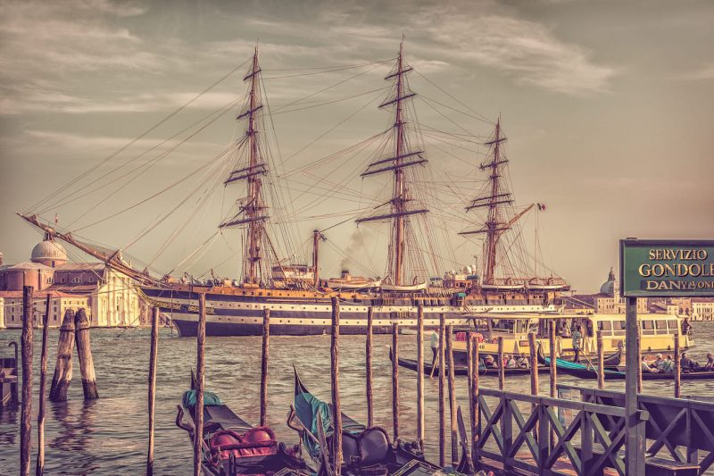 paintography amerigo vespucci in venice